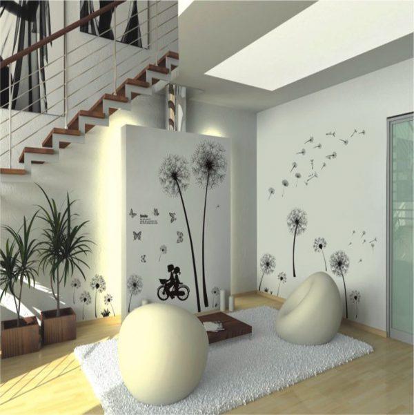 תמונה של מדבקות קיר לסלון