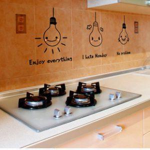 תמונה של מדבקות למטבח